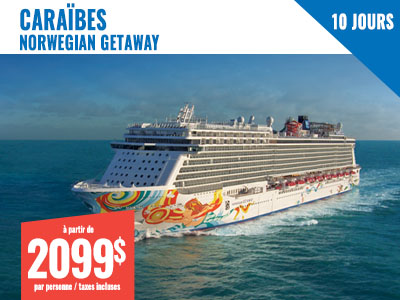New York - NCL Getaway 7 jours Floride & Bahamas + 3 jours NY
